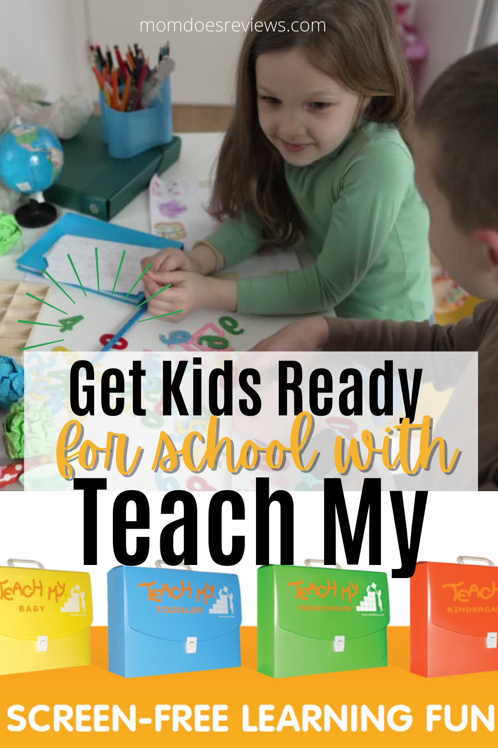Get Your Kids Ready for School with Screen-Free Teach My Learning Kits! #Back2School21
