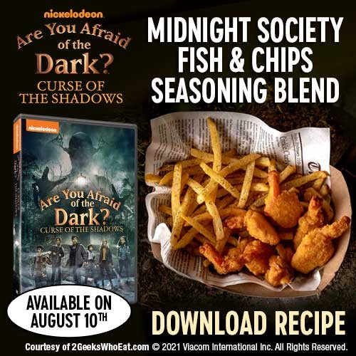 A must-own for old and new fans alike, theAre You Afraid of the Dark?: Curse of the Shadows DVD will be available from Paramount Home Entertainment and Nickelodeon Home Entertainment.