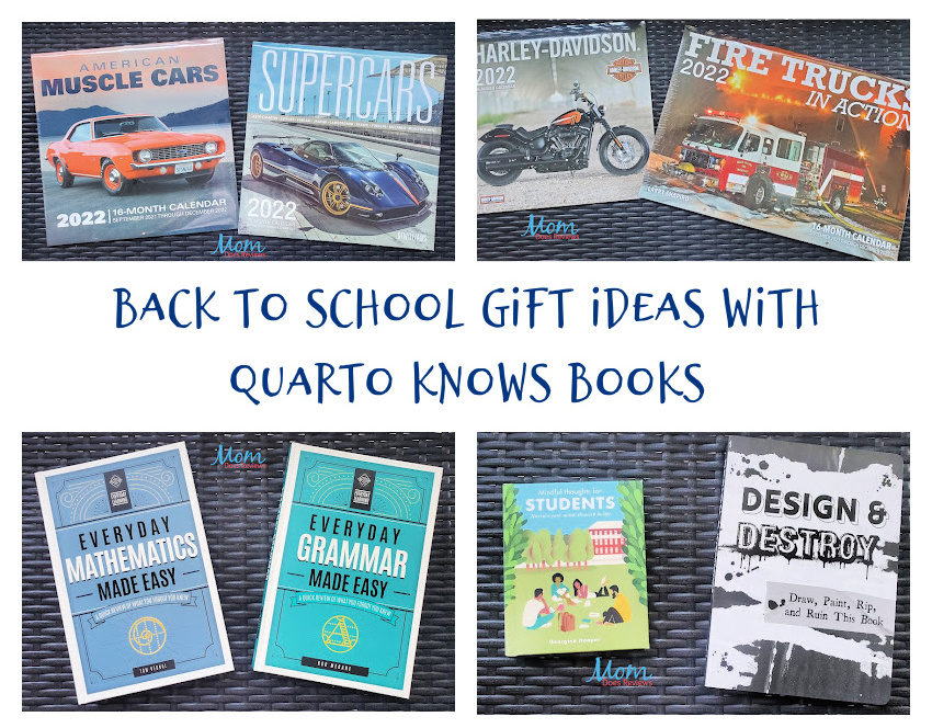 Back to School Gift Ideas with Quarto Knows Books