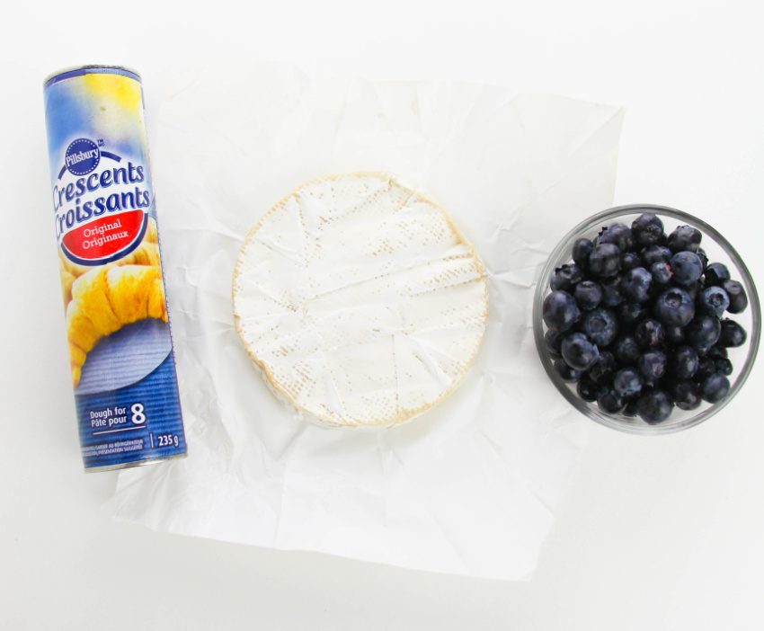 Blueberry Brie Bite ingredients needed