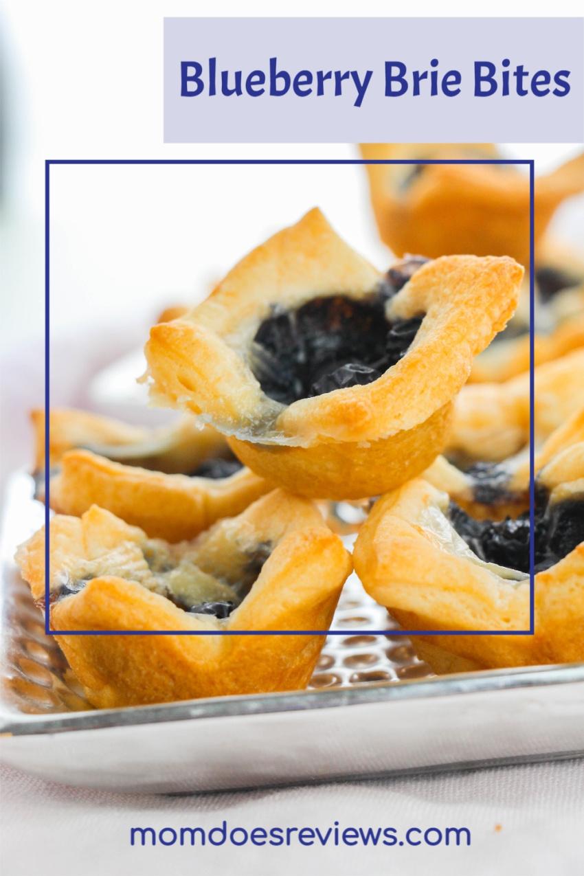 Blueberry Brie Bites #Recipe #3ingredientrecipe #blueberries