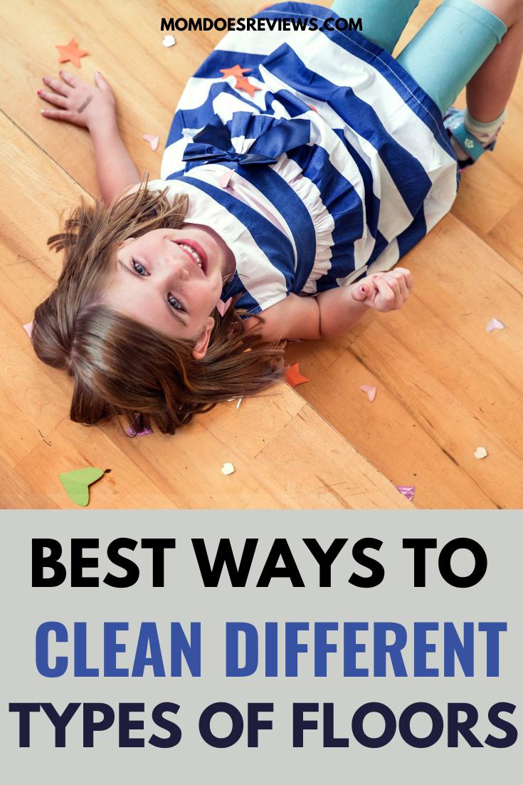 Best Ways to Clean Different Flooring Materials