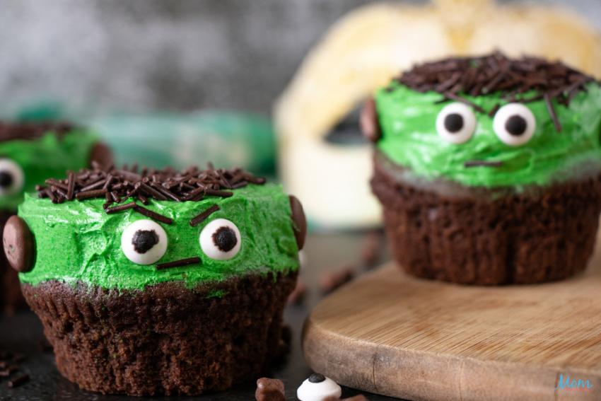 Frankenstein Cupcakes Recipe