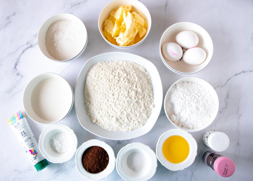 Frankenstein Cupcakes ingredients needed
