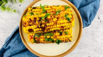 Grilled Bang Bang Corn on the Cob Recipe