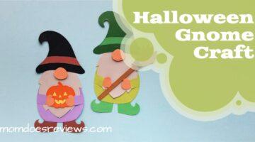 Halloween Gnome Paper Craft