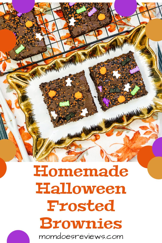 Homemade Halloween Brownies