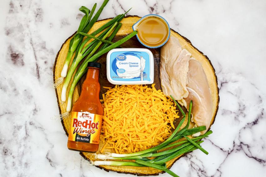 Instant Pot Chicken Wing Dip ingredients needed