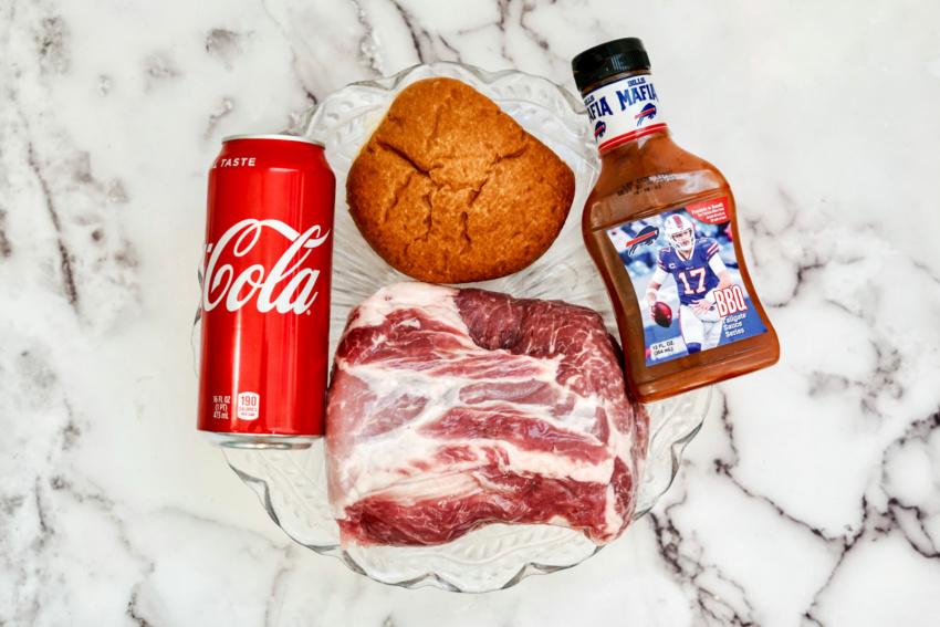 Instant Pot Coca Cola Pulled Pork ingredients needed