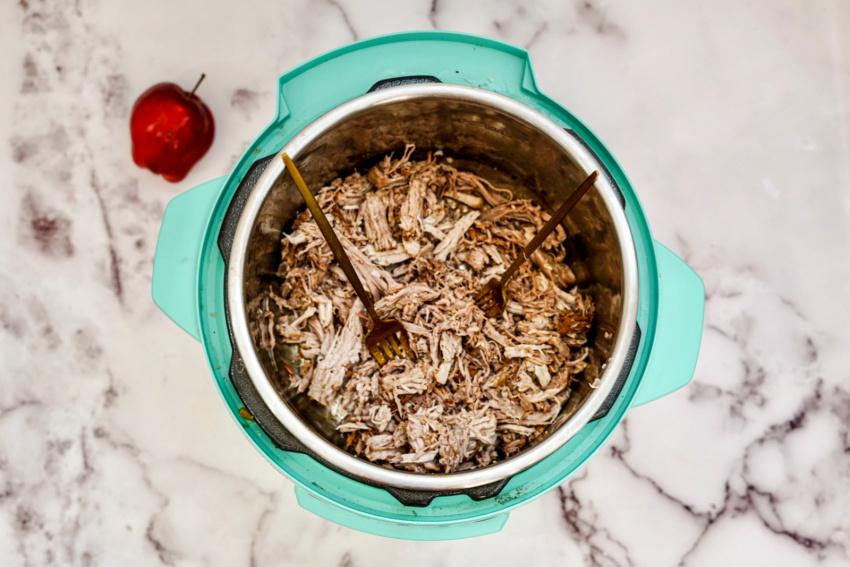 Instant Pot Coca Cola Pulled Pork process