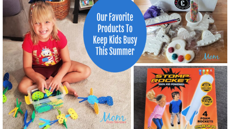 Our Favorite Products To Keep Kids Busy This Summer