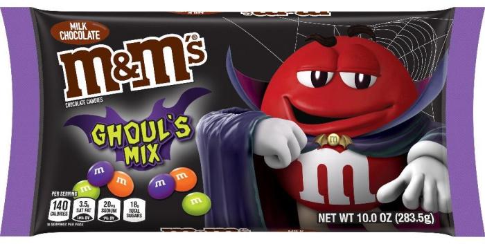 M&M's Ghoul's Mix Milk Chocolate Halloween