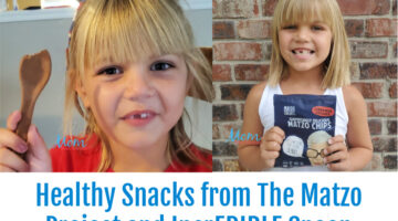 Healthy Snacks from The Matzo Project and IncrEDIBLE Spoon