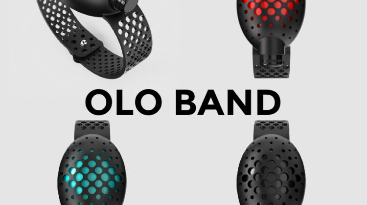 Clean Hands on the Go with the OLO Band