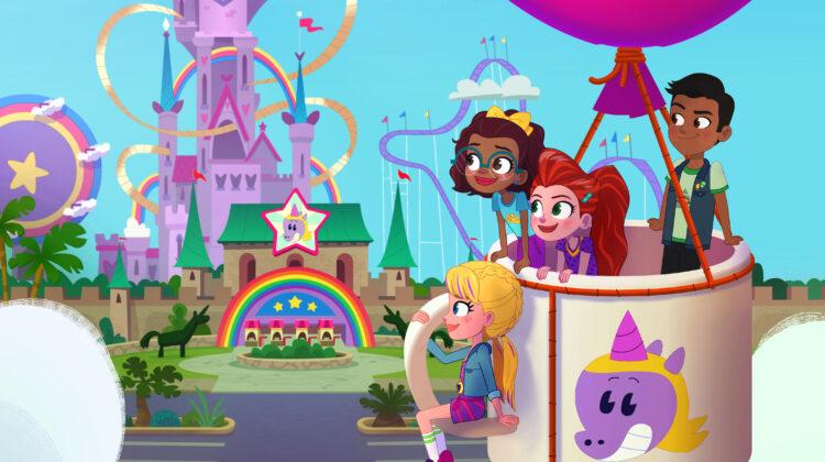 "Come experience ""Polly Pocket Season 3: Rainbow Funland Adventures"""