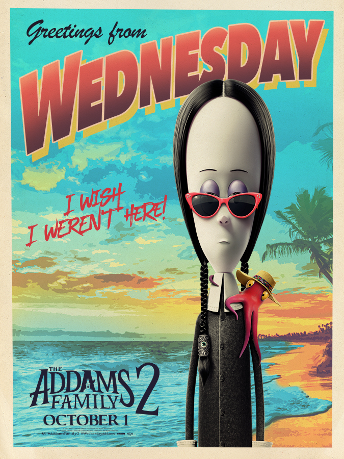 Watch The Addams Family 2 on October 1st! #AddamsFamily2