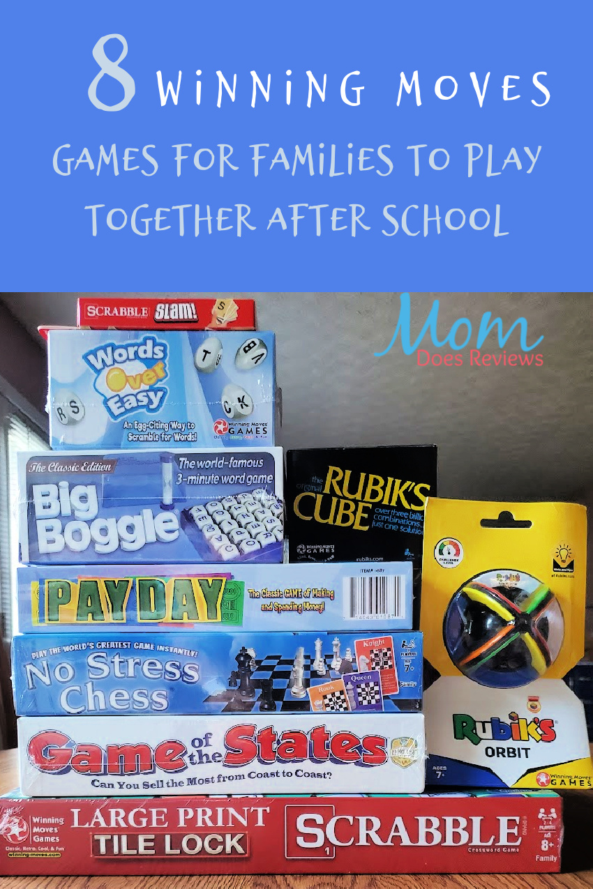 Winning Moves Games for Families to Play