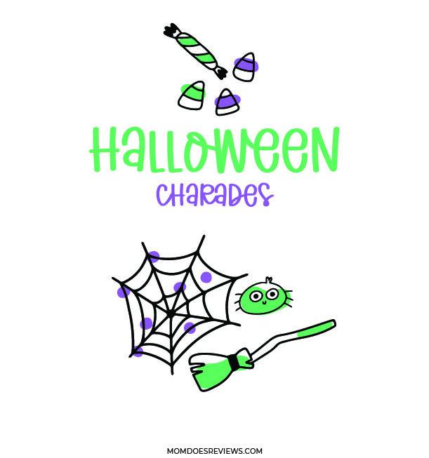 Halloween Charades for Kids! Free Printable