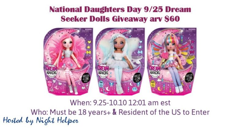 Dream Seeker Dolls #Giveaway