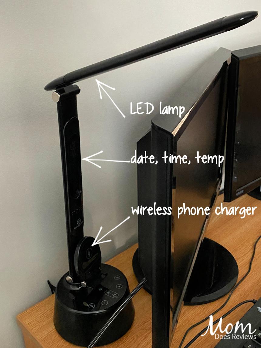 LumiCharge LED Desk Lamp