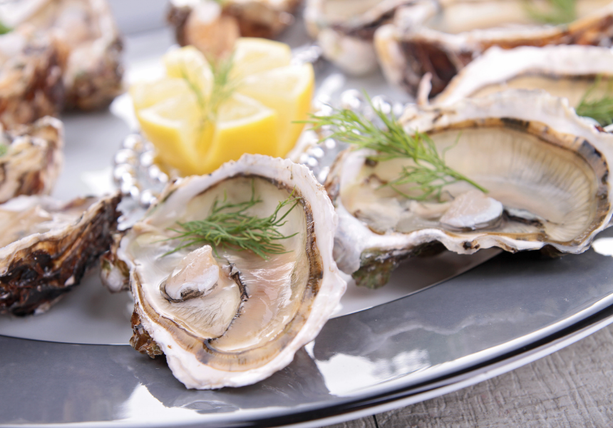 houston's foods oysters