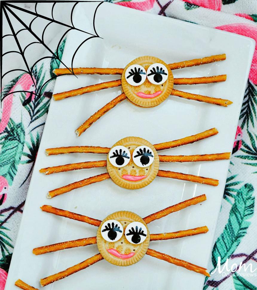 girlie spider oreo cookies