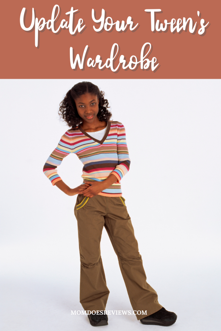 5 Steps to Updating & Organizing Your Tween's Wardrobe