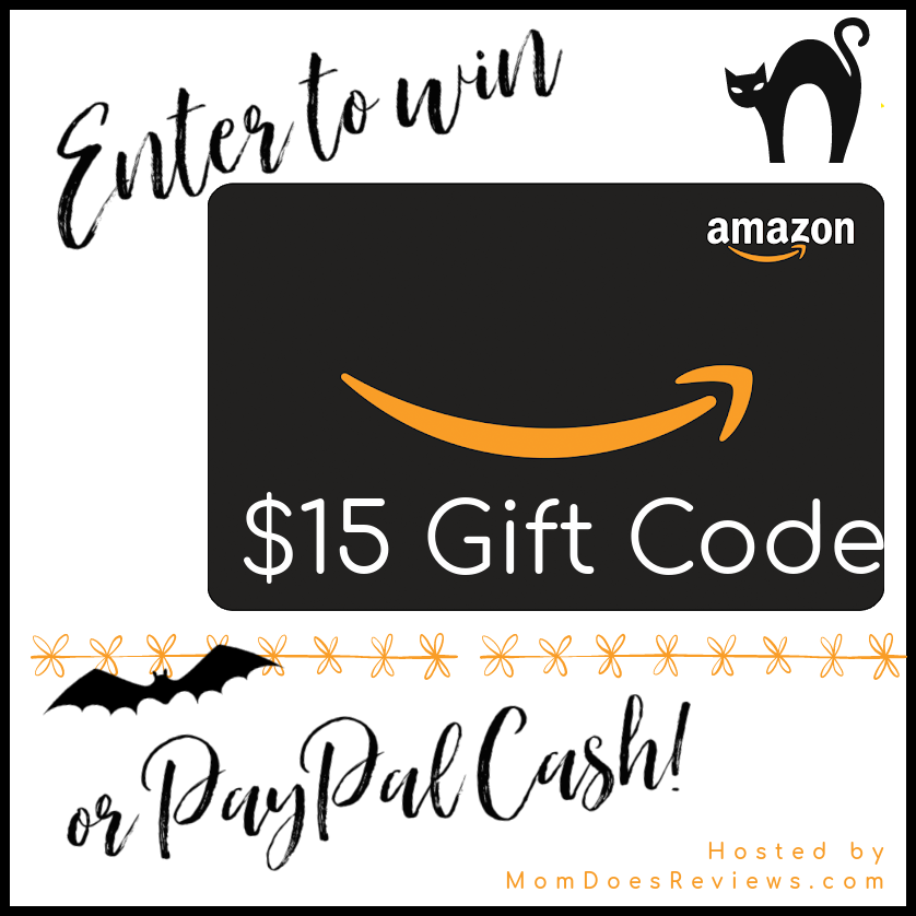 #Win $15 Amazon GC or PayPal Cash!