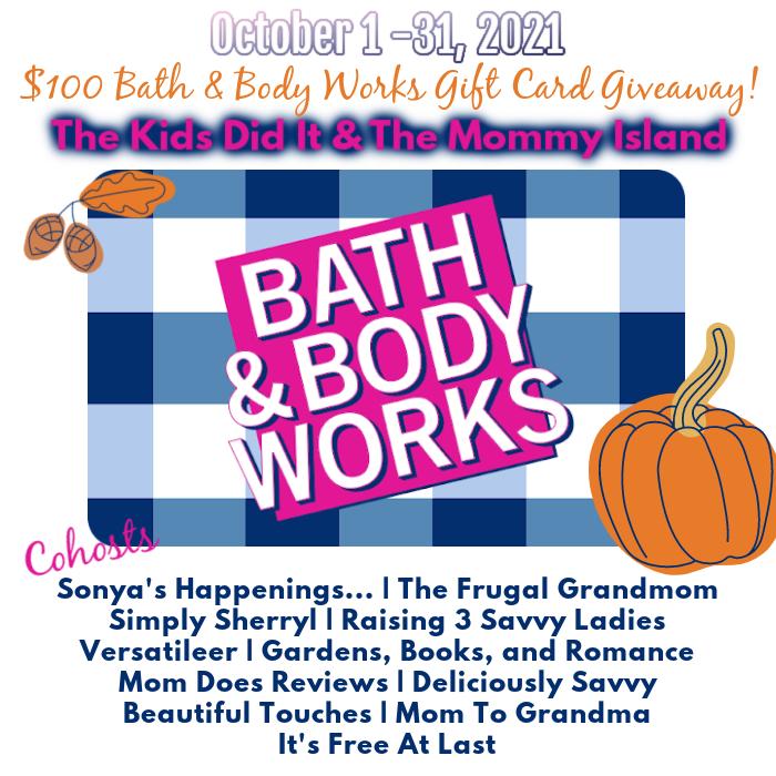 #Win $100 Bath & Body Works GC! Open WW #BTEvents #HappyHalloween #fall