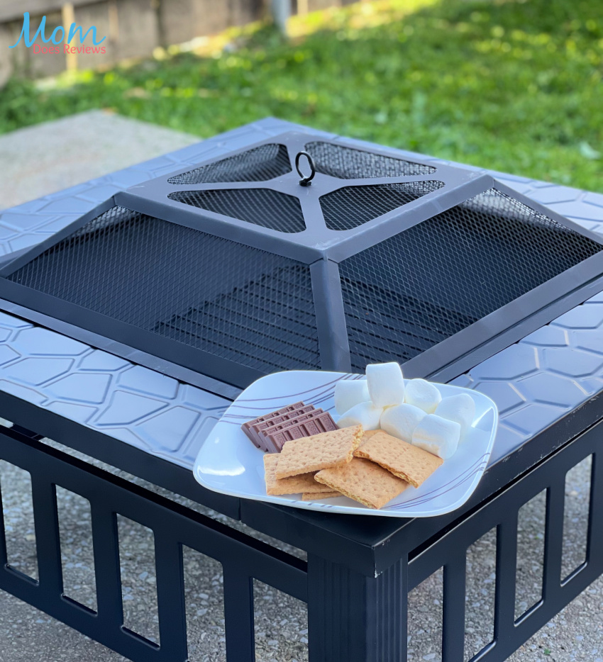 Grab Your S'mores and Gather Around The Yaheetech Fire Pit!