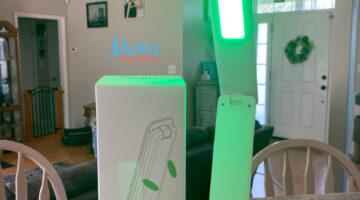 Allay, Patented calming green wavelengths