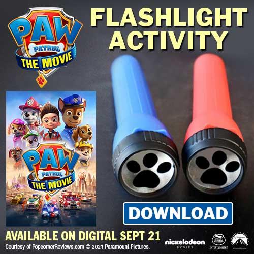 Paw Patrol Flashlight craft