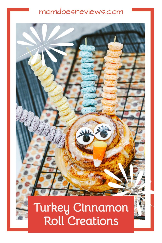 Fun and Easy Turkey Cinnamon Rolls Creation