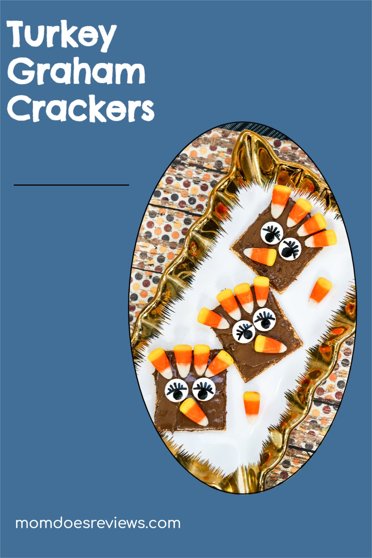 Adorable Turkey Graham Crackers Snack