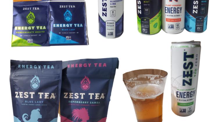 Get Your Energy with Zest Tea