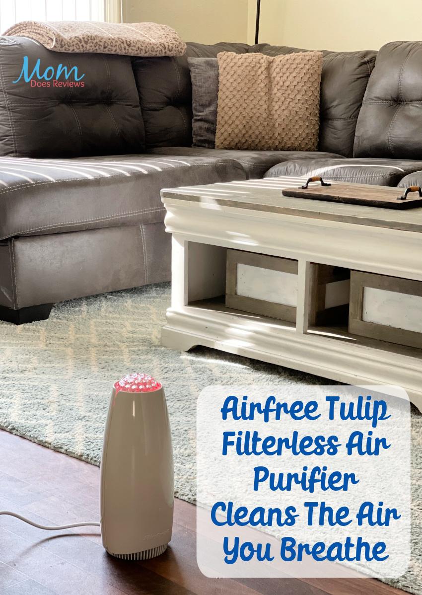 Airfree Tulip Filterless Air Purifier Cleans The Air You Breathe