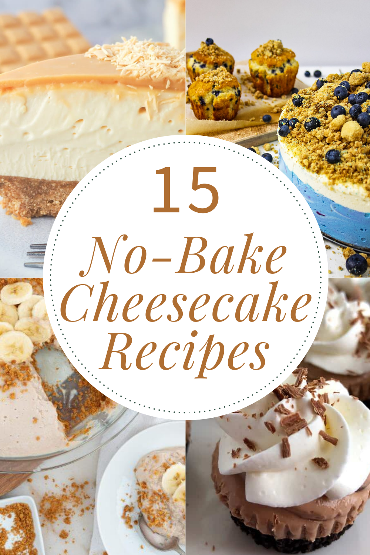 No Bake Cheesecake Recipes