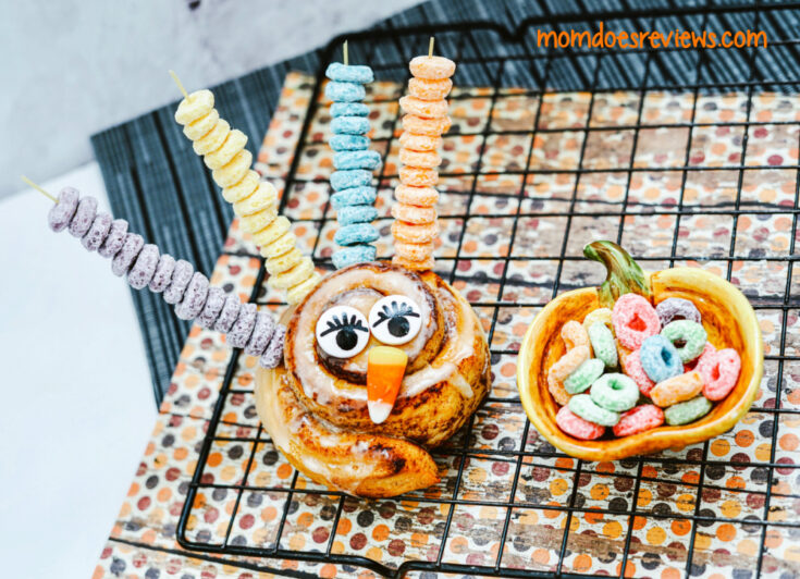 Fun and Easy Turkey Cinnamon Rolls